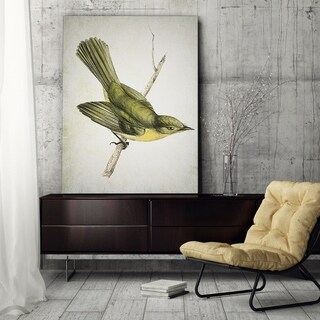 Wexford Home 'Aviary Plate I' Canvas Wall Art