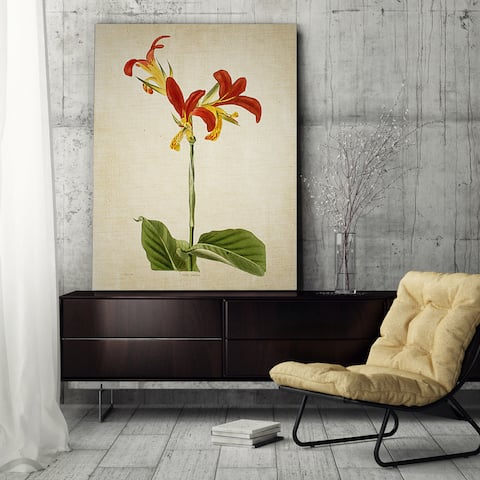Wexford Home 'Botanical Plate VII' Gallery Wrapped Canvas