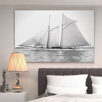 Wexford Home 'Sailing Yacht VII' Gallery-wrapped Canvas Wall Art