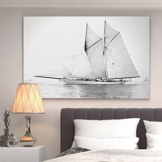 'Sailing Yachy IV' Canvas Wall Art
