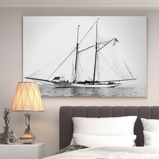 Wexford Home 'Sailing Yacht III' Gallery-wrapped Canvas Wall Art