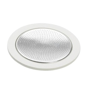 Bialetti 6-cup Stovetop Moka Express Replacement Stainless-steel/ Rubber Gasket Seal Filter