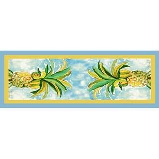 Betsy Drake Pineapple 13-inch x 36-inch Runner