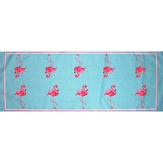 Betsy Drake Flamingo 13 x 36-inch Table Runner