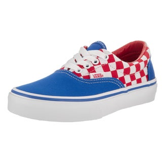 Vans Kids' Era Checkerboard Skate Shoes (3 options available)