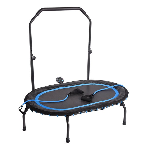 Stamina InTone Oval Fitness Trampoline w/Workout DVD