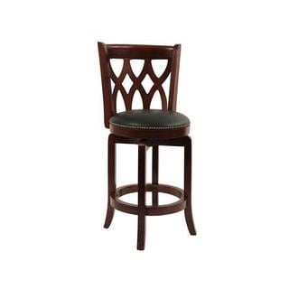 Cathedral Cherry Swivel Stool