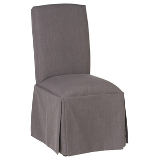 Noble Upholstered Grey Dining Chair by Kosas Home