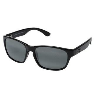 Maui Jim Men's Unisex 721-02 Mixed Plate Black Frame/Neutral Grey LensSunglasses