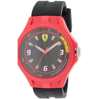 Ferrari Scuderia Men's Pit Crew 0830284 Silicone Watch