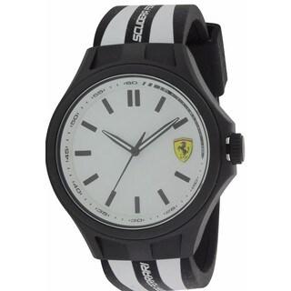 Ferrari Men's Scuderia Pit Crew 0830280 Silicone Watch