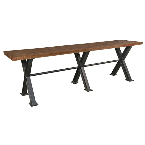 Modena Reclaimed Wood 118 Inch Gathering Table By Kosas Home