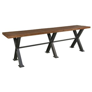 Modena Reclaimed Wood 118-inch Gathering Table by Kosas Home
