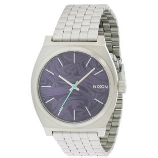 Nixon Men's Time Teller Stainless Steel Automatic Watch