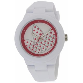 Adidas Aberdeen ADH3051 White Silicone Ladies' Watch