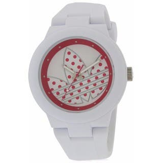 Adidas Aberdeen ADH3051 White Silicone Ladies' Watch|https://ak1.ostkcdn.com/images/products/14628060/P21168927.jpg?impolicy=medium