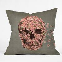 Terry Fan Reincarnate Throw Pillow