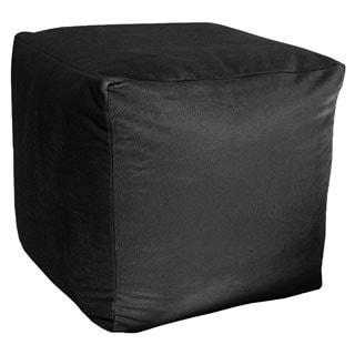 Majestic Plush Cube Pouf - Ottoman