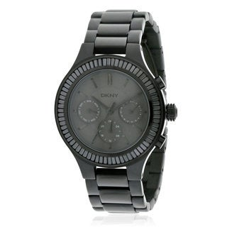 DKNY Women's NY2397 Chambers Black Stainless Steel Watch