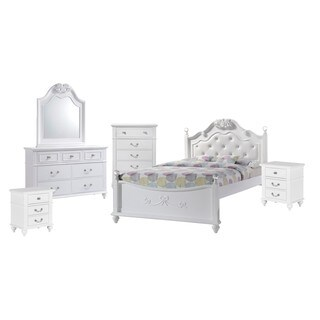 Picket House Furnishings Annie Full Platform 6PC Bedroom Set w/ Storage Trundle