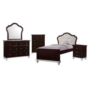Picket House Furnishings Alli Platform Twin 5PC Bedroom Set
