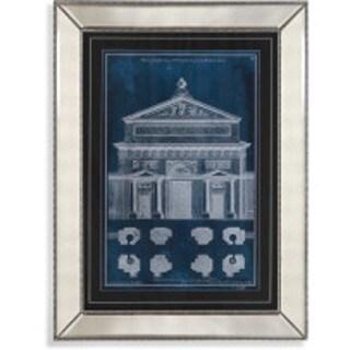Bassett Mirror Company 'Palace Facade Blueprint I' Framed Print