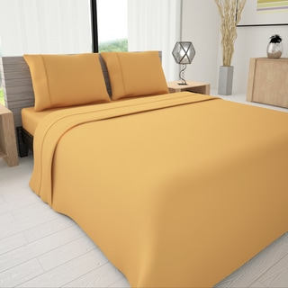 Colors of Life 3-piece Sheet Set with Piping Accent