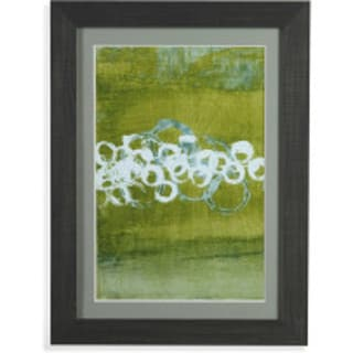 Bassett Mirror Company 'Green Orbs I' Framed Wall Art