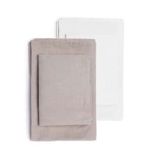 Hampshire Linen Cotton Blend Sheet Set