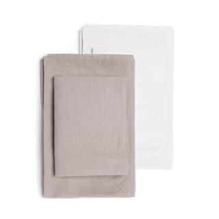 Hampshire Linen Cotton Blend Sheet Set