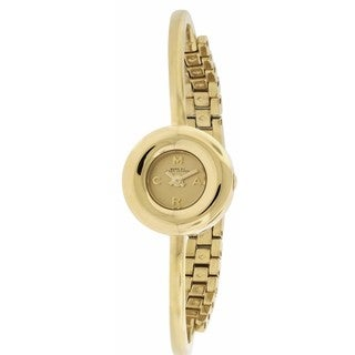 Marc by Marc Jacobs Dinky Donut Goldtone Stainless Steel Women's Watch