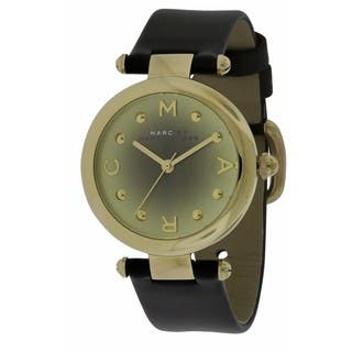 Marc by Marc Jacobs Dotty MJ1409 Ladies' Watch with Black Leather Strap|https://ak1.ostkcdn.com/images/products/14628474/P21169276.jpg?impolicy=medium
