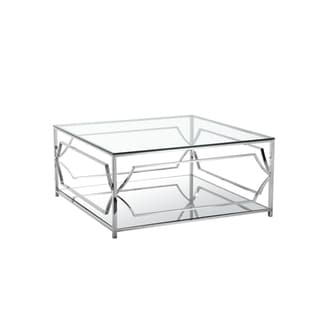 Edward Two-tiered Square Coffee Table