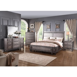 Emerald Home Allure Sleigh Bed