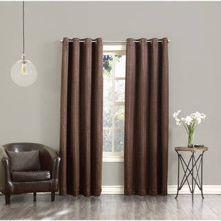 Sun Zero Toulouse Greek Key Motif Window Curtain Panel