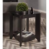 Copper Grove Rustavi Classic Black End Tables
