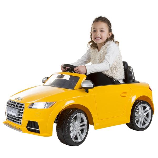 Shop Lil Rider Audi TTS Roadster V BatteryPowered Rideon Car - Audi 6v ride toy cars