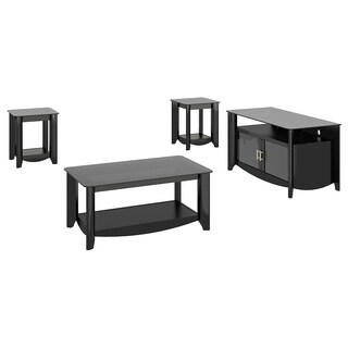 Aero TV Stand and Coffee Table with End Tables