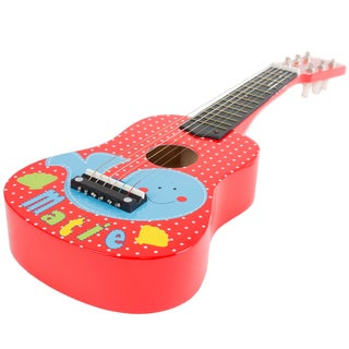 Kids Toy Acoustic Guitar with 6 Tunable Strings, Real Musical Sounds by Hey! Play!