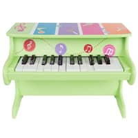 Children's Toy Piano - Colorful Musical Upright Piano by Hey! Play!