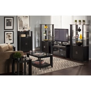 Aero 56 Inch TV Stand, Coffee Table, End Tables and Storage