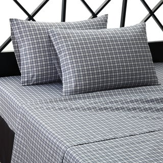Soho Plaid Microfiber Sheet Set