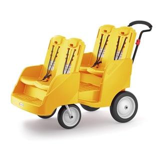 Gaggle 4 Yellow Multi-Passenger Buggy