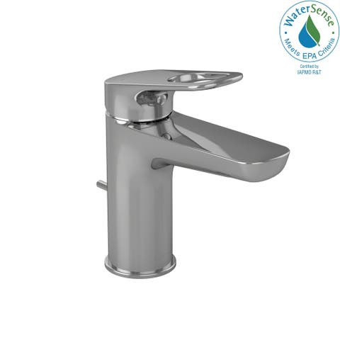 Toto Oberon R Single Handle 1.5 GPM Bathroom Sink Faucet, Polished Chrome (TL362SD#CP)