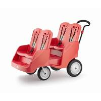 Gaggle 4 Red Multi-Passenger Buggy