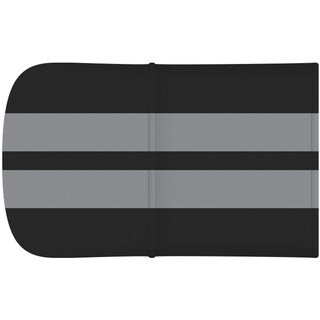Gaggle 4 Black with Gray Stripes Roof Accessory