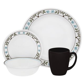 Livingware Tree Bird 16 Piece Dinnerware Set (service for 4)