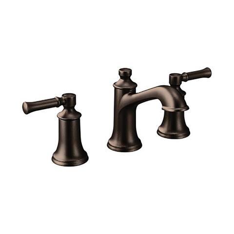 Moen Dartmoor Two-Handle Bathroom Faucet, Oil Rubbed Bronze (T6805ORB)