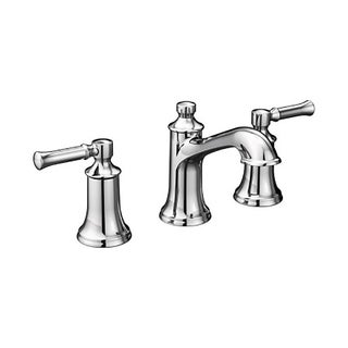 Moen Dartmoor Two-Handle High Arc Bathroom Faucet T6805 Chrome