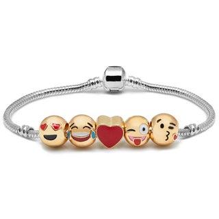 Etcbuys Emoji 5-charm Bracelet